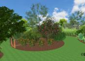 Edible Demonstration Garden Featuring Tropical Fruit Trees - Laveen, AZ © LADiva Artistry Landscape Design Solutions 2018