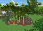 "Edible & Topical ""Park Like"" Oasis on 1.65 Flood Irrigated Acres - Gilbert, AZ © LADiva Artistry Landscape Design Solutions 2018"