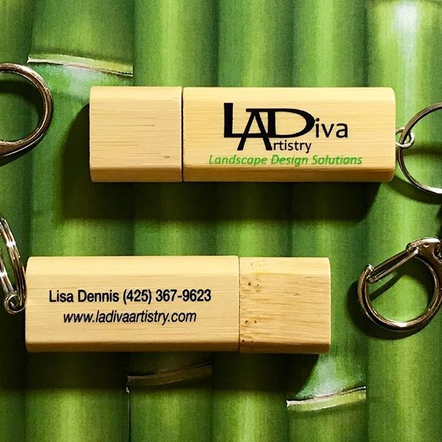 Eco Friendly Real Bamboo USB ©LADiva Artistry Landscape Design Solutions, specializing in edible & tropical garden design in Gilbert, AZ. Featuring Custom 2D Color Master Landscape Design Plans and 3D Virtual Walkthrough Tours. Cultivating beautiful, productive oases in the greater Phoenix, Arizona area showcasing tropical trees, fruit trees, edible plants & herbs in low maintenance, stunning gardens.