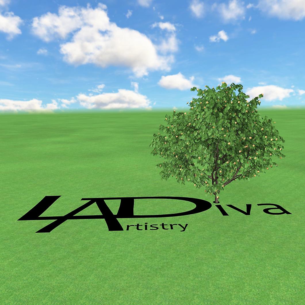 custom logoLADiva Artistry Landscape Design Solutions